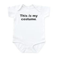 Minimalist Halloween Costume Infant Bodysuit