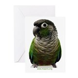 Green-Cheek Conure Greeting Cards (6)