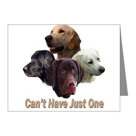 Can't Have Just One (LAB) Note Cards (Pk of 10)