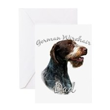 Wirehaired Dad2 Greeting Card