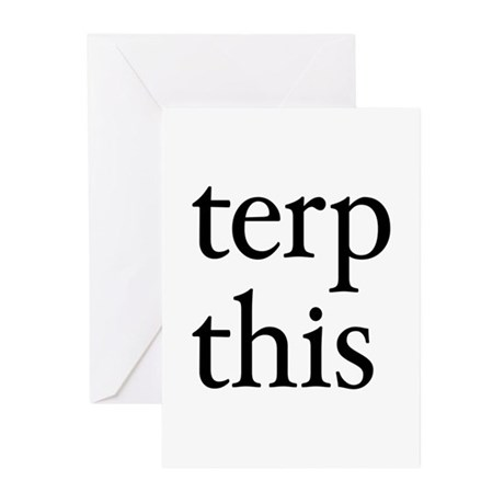 Terp This Greeting Cards (Pk of 10)