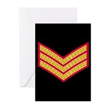 British Sergeant<BR> Note Cards Pack 3