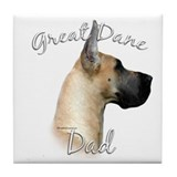 Dane Dad2 Tile Coaster