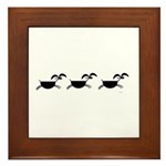 Hopi Mountain Sheep Glyph Framed Tile