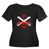 Zombie SWAT (big) Women's Plus Size Scoop Neck Dar