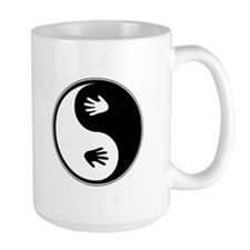 Yin Yang Hands Coffee Mug