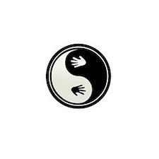 Yin Yang Hands Mini Button (100 pack)