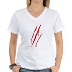 Clawed to Death Women's V-Neck T-Shirt