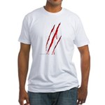 Clawed to Death Fitted T-Shirt