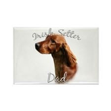 Irish Setter Dad2 Rectangle Magnet