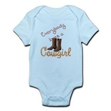 Loves Cowgirl Infant Bodysuit