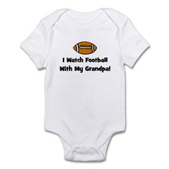 I Watch Football With My Gran Infant Bodysuit