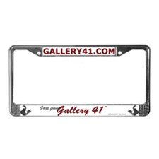 Jazz from Gallery 41 Logo Var License Plate Frame