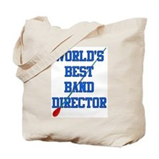 World's Best Band Director Tote Bag