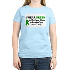 I Wear Green (Saved My Mom's Life) T-Shirt
