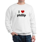 I Love phillip Sweatshirt