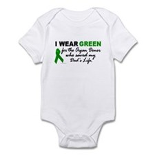 I Wear Green (Saved My Dad's Life) Infant Bodysuit