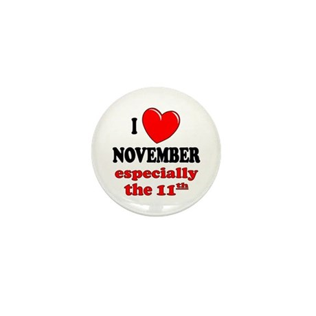 November 11th Mini Button (10 pack)
