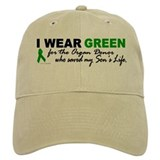 I Wear Green 2 (Saved My Son's Life) Baseball Cap