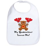 My Godmother Loves Me! Bib