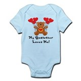 My Godfather Loves Me! Infant Bodysuit