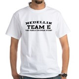Team E - Medellin White T-shirt