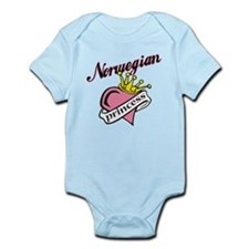 Norwegian Princess Infant Bodysuit