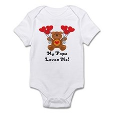 My Papa Loves Me! Infant Bodysuit