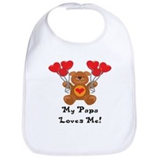 My Papa Loves Me! Bib