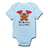 My Granny Loves Me! Infant Bodysuit