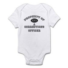 Property of a Corrections Officer Infant Bodysuit