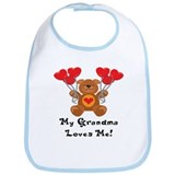 My Grandma Loves Me! Bib