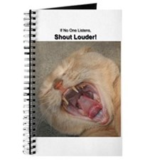 SHOUT LOUDER! Journal