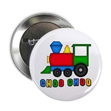 "Choo Choo Train 2.25"" Button (10 pack)"
