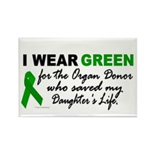 I Wear Green 2 (Saved My Daughter's Life) Rectangl