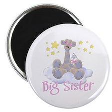 Giraffe Big Sister Magnet