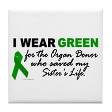 I Wear Green 2 (Saved My Sister's Life) Tile Coast