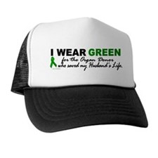 I Wear Green 2 (Saved My Husband's Life) Trucker Hat