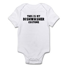 Dishwasher costume Infant Bodysuit