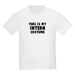 Intern costume Kids Light T-Shirt