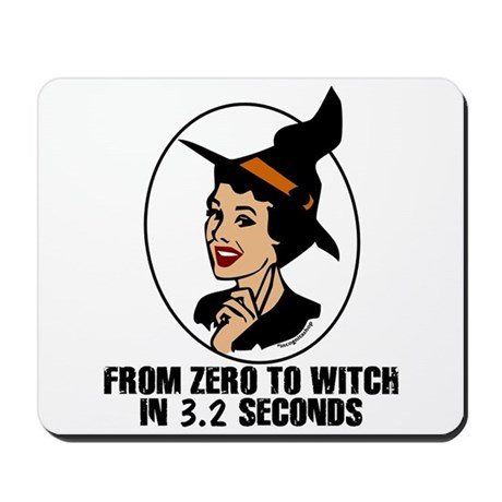 Zero to Witch Mousepad