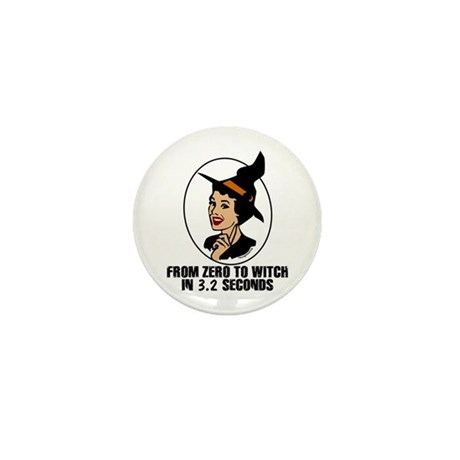 Zero to Witch Mini Button (10 pack)