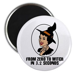 Zero to Witch Magnet