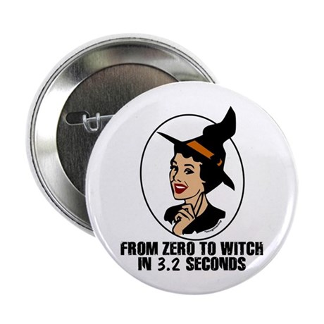 "Zero to Witch 2.25"" Button (10 pack)"