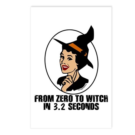 Zero to Witch Postcards (Package of 8)