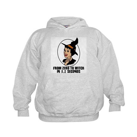 Zero to Witch Kids Hoodie