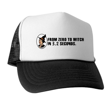 Zero to Witch Trucker Hat
