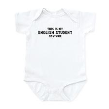 English Student costume Infant Bodysuit