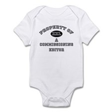 Property of a Commissioning Editor Infant Bodysuit