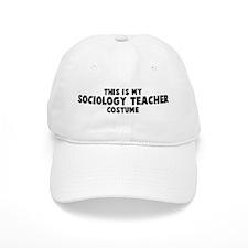 Sociology Teacher costume Baseball Cap